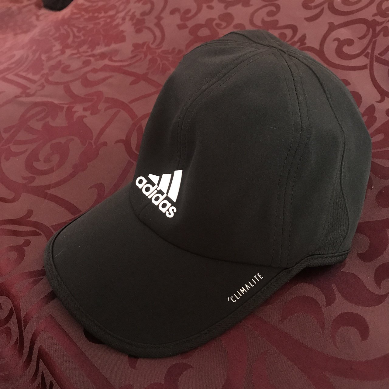 ad7a7a91b84 Black Adidas sports hat. Great for working out