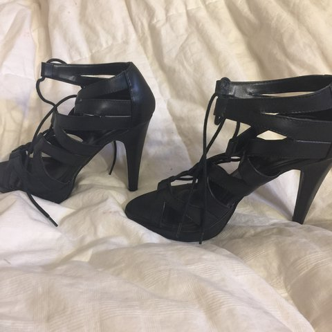 2fc31a4264c9 Chinese Laundry heels (From DSW) Size 8 Black Stiletto heel - Depop