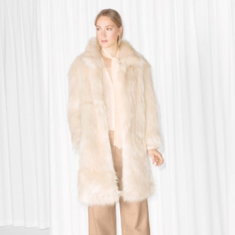 1a0481e0 @bambi230. 2 years ago. London, United Kingdom. And Other Stories  &otherstories faux fur ...