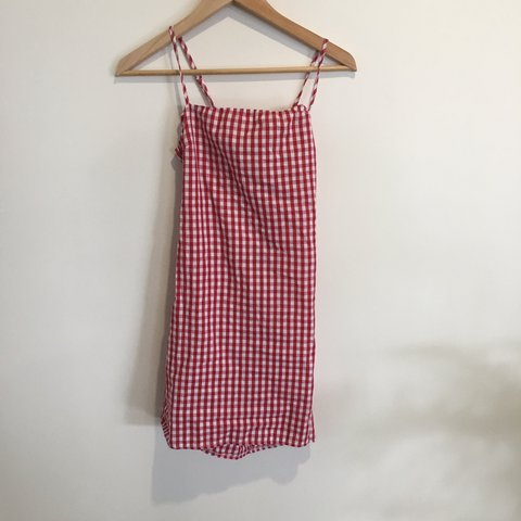 f0afba9de1e4 ON HOLD DO NOT BUY gingham dress ❣ red and white gingham & - Depop