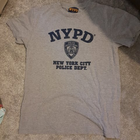 9d19e7b61 NYPD t-shirt Authentic officially liscensed bought myself in - Depop