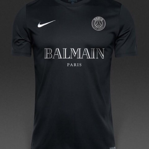 b2f34aea @callum0409. last year. Newcastle Upon Tyne, United Kingdom. Nike x Balmain  PSG Football Shirt