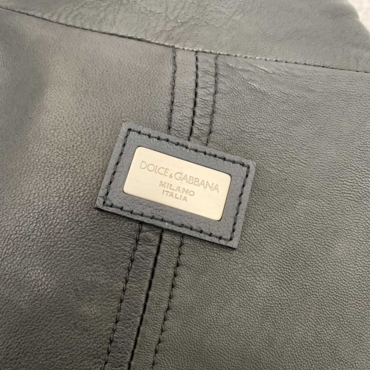 effab8320f DOLCE AND GABBANNA REAL LEATHER