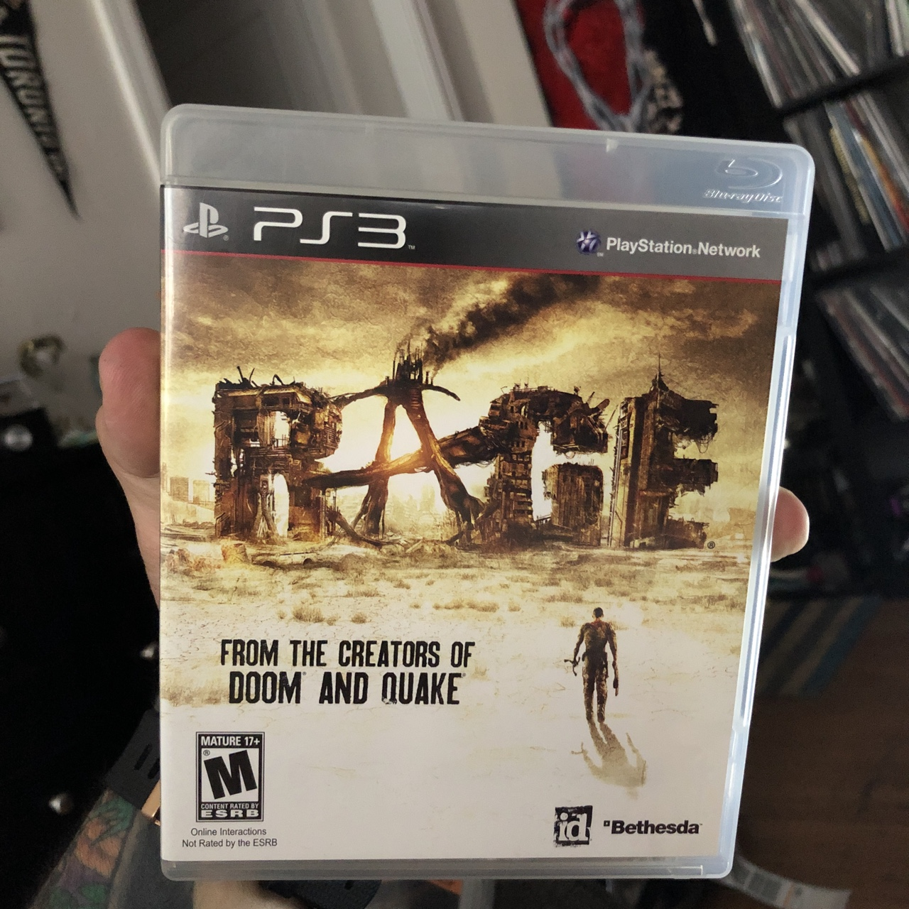Rage for the PlayStation 3 / PS3 For fans of: Sega,    - Depop