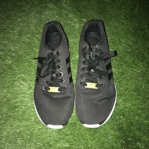 fa1052bf583e3 Adidas zx flux Size 8 Black and white Condition  for