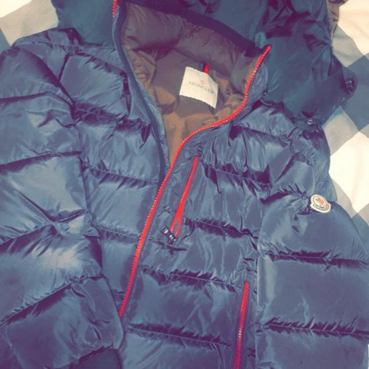 BOYS MONCLER COAT PAID £639 FROM TESSUTI ALL Depop