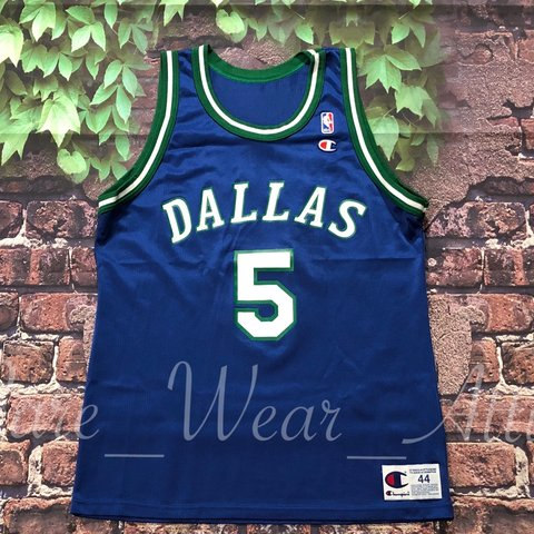 223a1a00 @rare_wear_attire. 11 months ago. Fairfield, United States. Champion nba  jersey Jason kidd size 44 mint condition Dallas Mavericks rookie