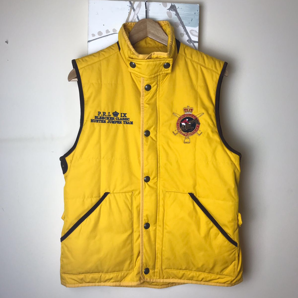 Ralph Lauren Horse Riding Jacket In Yellow With A Depop