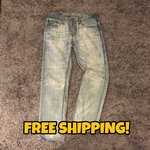 """84874b25 American eagle """"dad jeans"""" Worn once 10/10 condition Fit - Depop"""