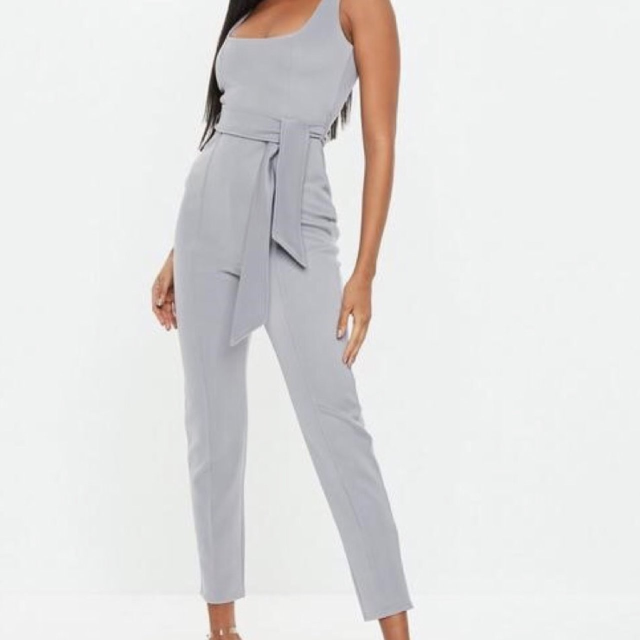 8392a55e40ae Grey jumpsuit from missguided Never been