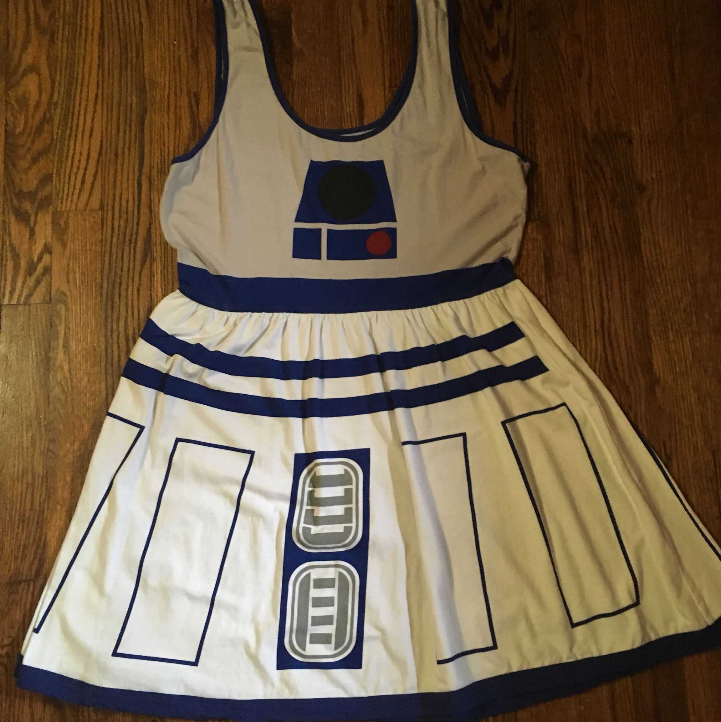 Star Wars R2D2 dress from Hot Topic. Size XL, very... - Depop