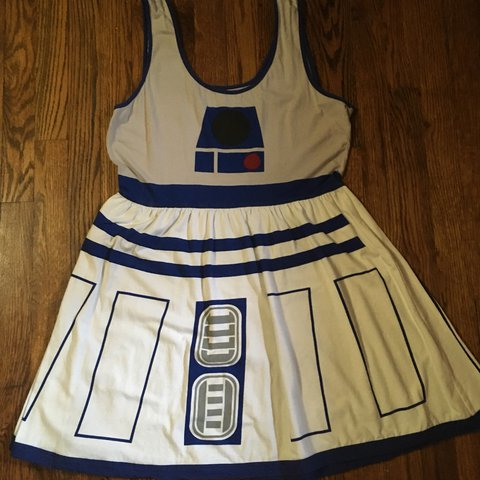 Star Wars R2D2 dress from Hot Topic. Size XL, very to larger - Depop