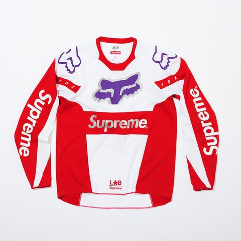 Supreme X Fox jersey collab size Medium going for  200 price - Depop 4bf72414f
