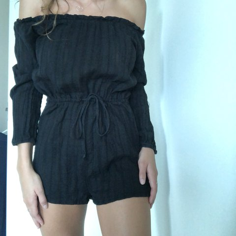 154fb3dda3  katcouda. last year. Australia. Auguste off the shoulder playsuit. Size 8
