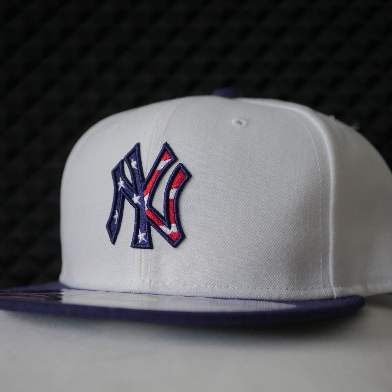 New Era 59Fifty Cap  NYC YANKEES 4TH JULY (STARS AND BARS) 1 - Depop 26892abe6a51