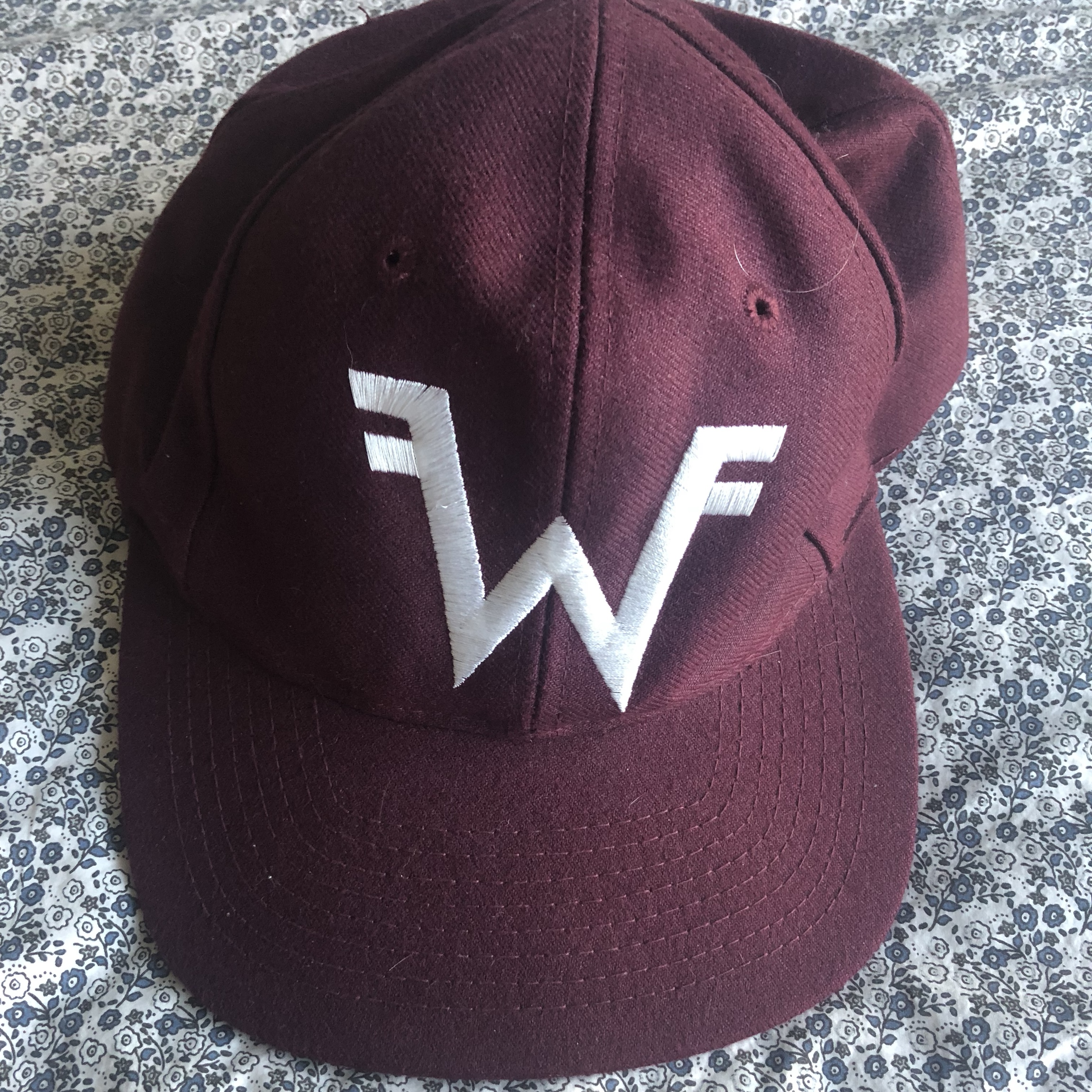 Original weezer fan club hat  Head-to-toe brand    - Depop