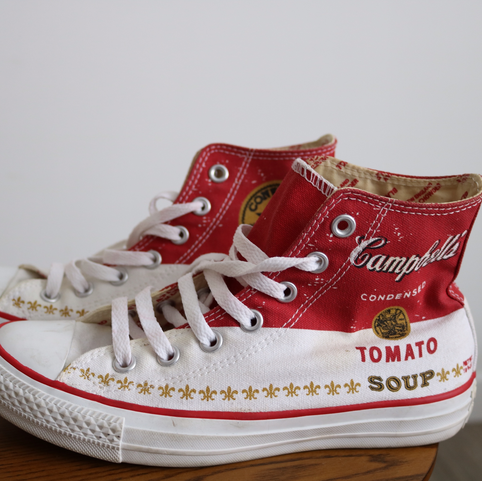 Converse x Andy Warhol Campbell's Soup