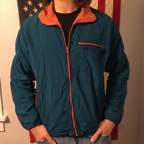 7a1c3171f9 Vintage Nike ACG windbreaker - size tag is washed off but a - Depop
