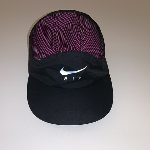 6fc3898911616 Nike X Supreme trail running hat pink black FW17 Brand new - Depop