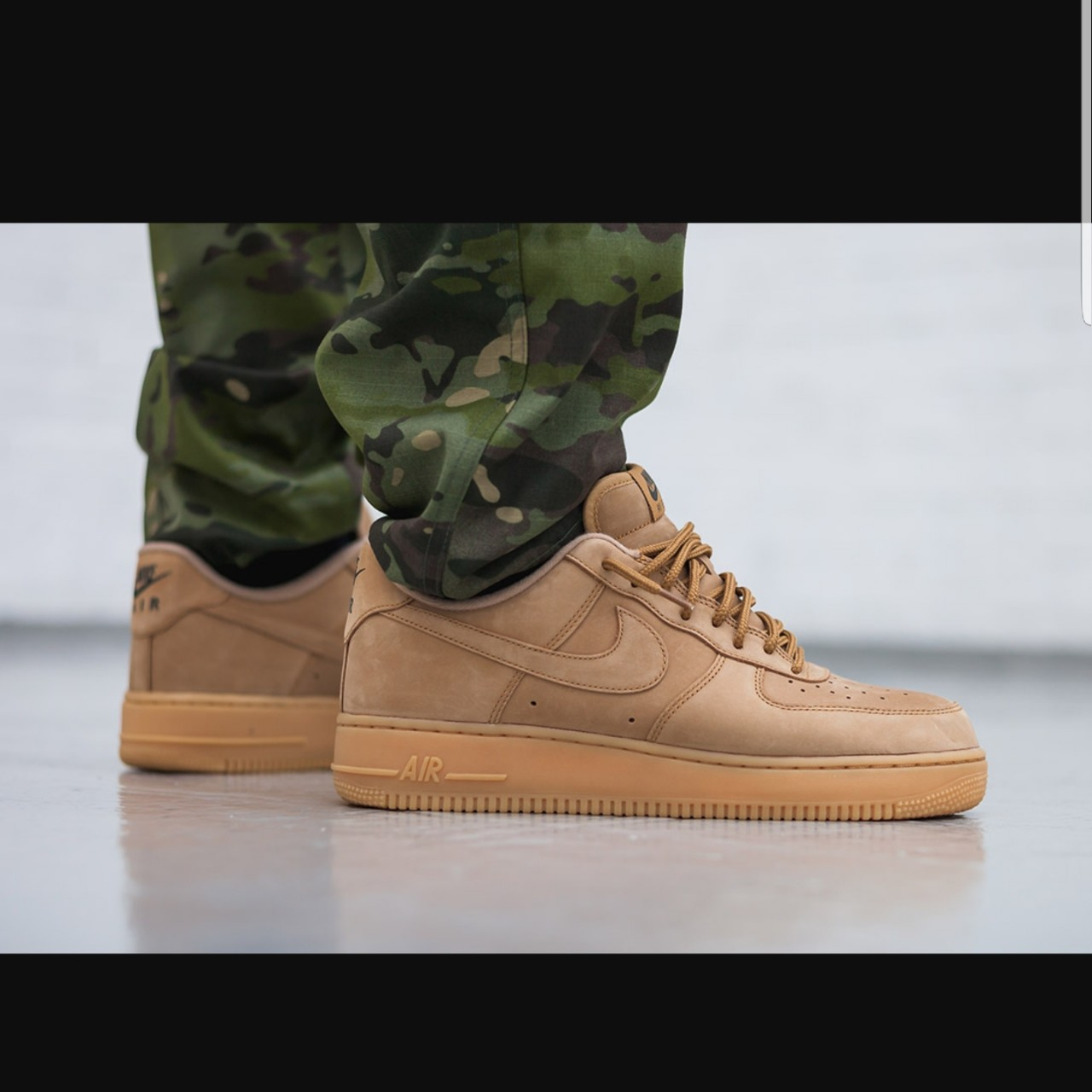 chupar Parche pase a ver  Nike air force 1 low wheat beige brown suede... - Depop