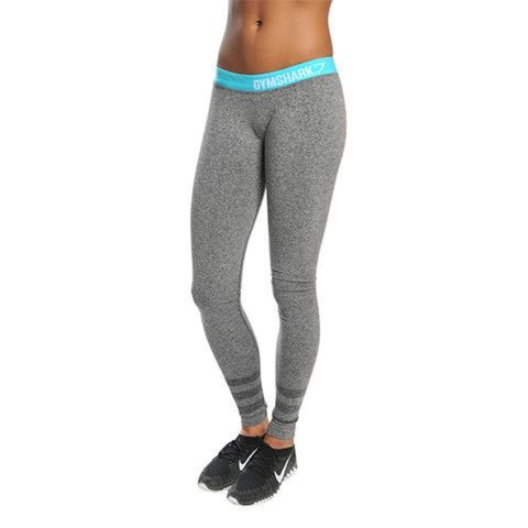45ab7a03685c4 Gymshark flex leggings grey with blue top. Size M/10-12, are - Depop