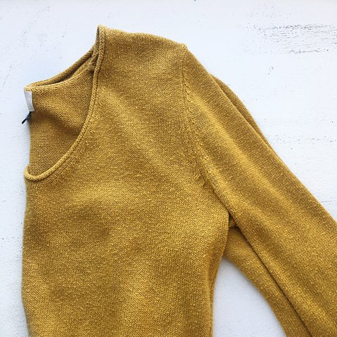 526cf79556f NothingNew Early 2000 s mustard yellow oversized sweater a - Depop