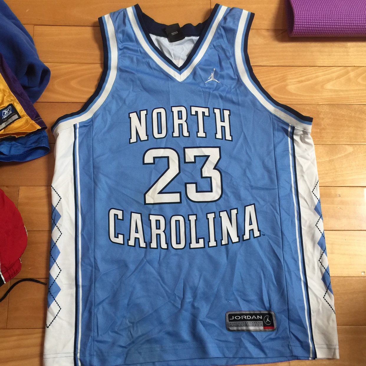 the latest 4c705 971c9 Michael Jordan North Carolina 23 Tarheels Jersey sz... - Depop