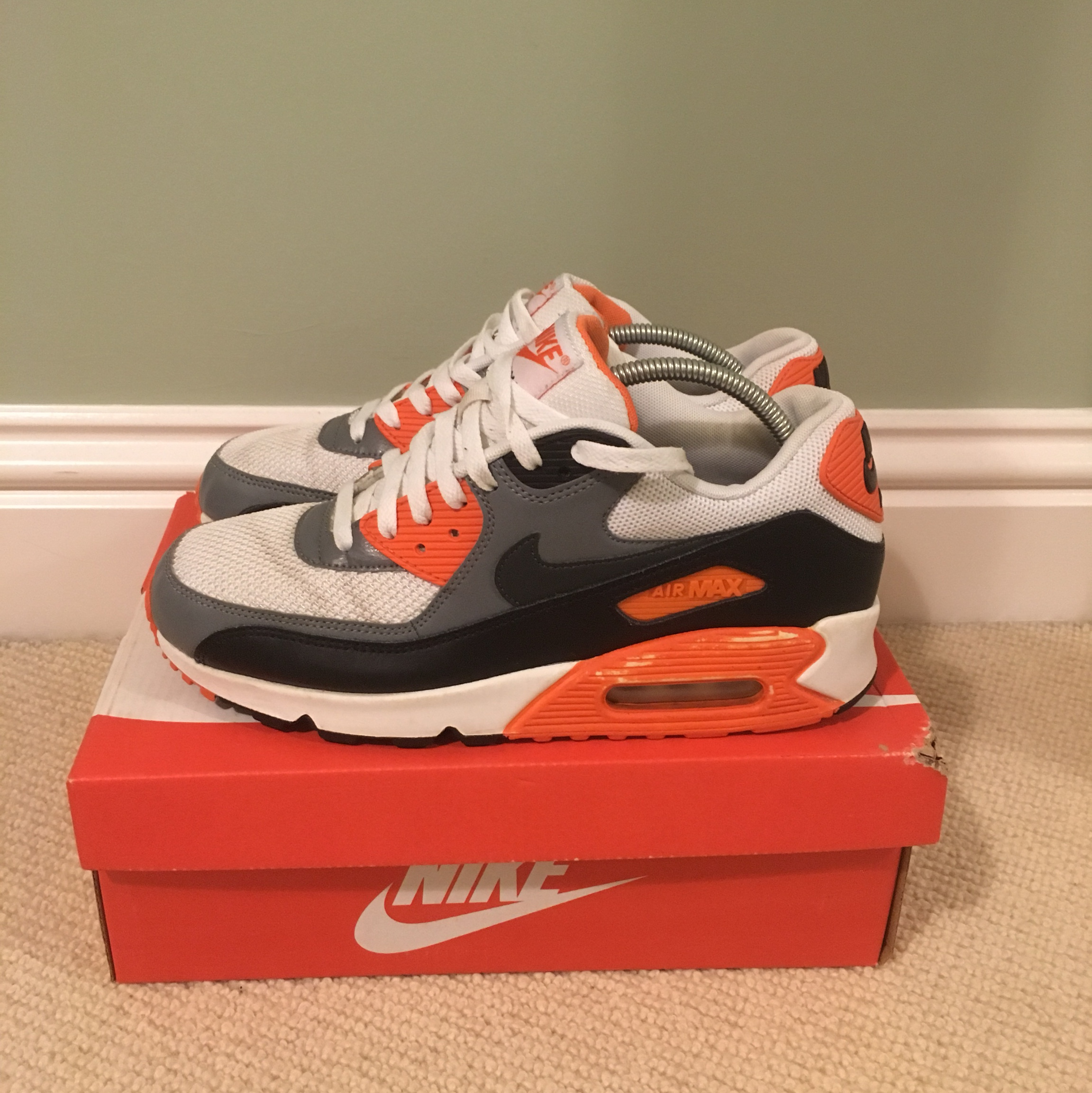 Nike Air max 90 Infrared 'orange' limited edition. Depop