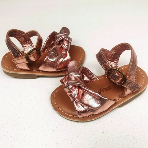 c27aaad12d0 Next rose gold sandals size uk 3 eur 19 immaculate condition - Depop