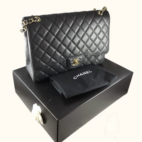 2601c8531b1636 @alldes. 9 months ago. United States. [PRICE TO SELL] Authentic CHANEL maxi flap  bag ...