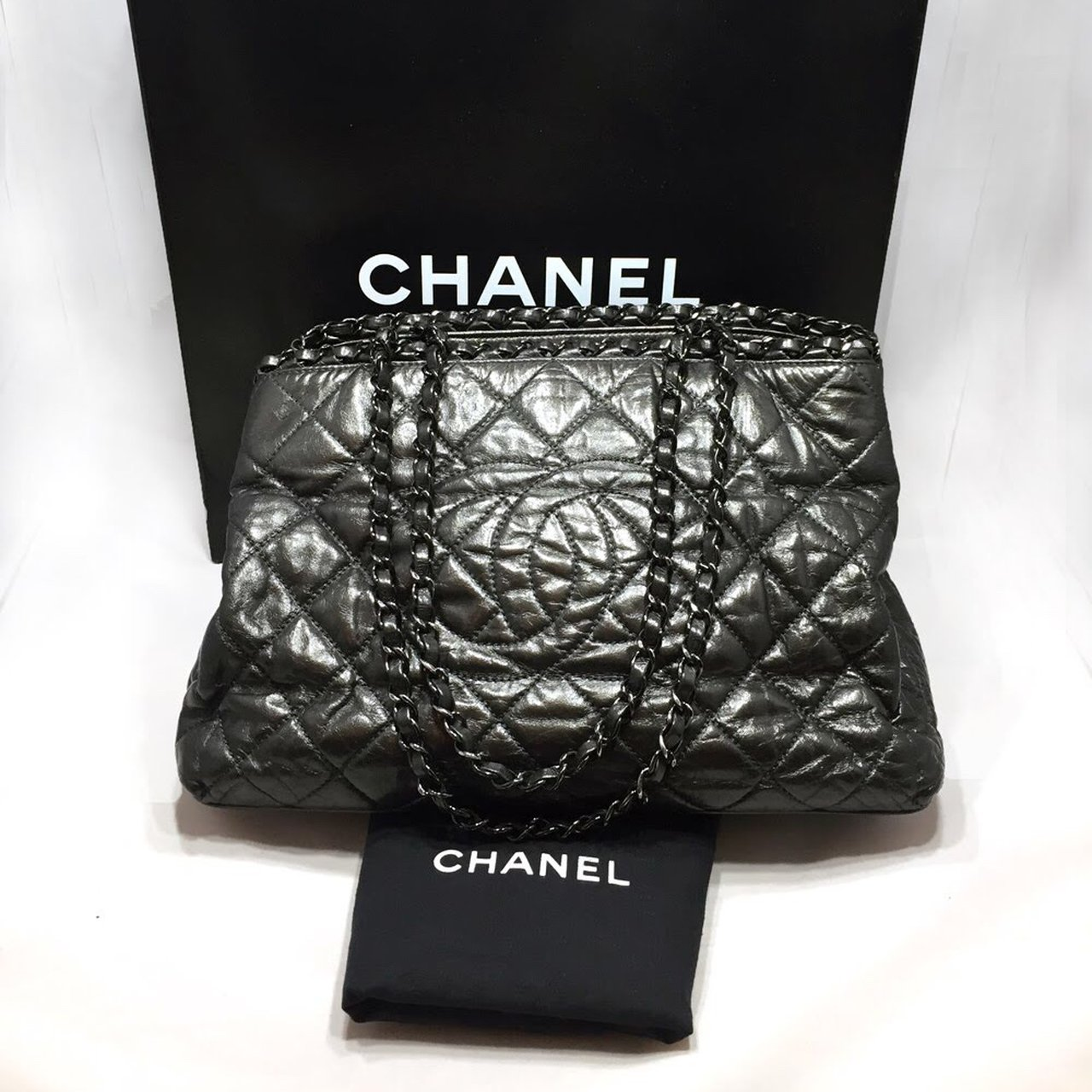 9a8c09f3afb8  alldes. 7 months ago. United States.  PRICE REDUCED  Authentic Chanel Large  Shoulder Bag and Tote
