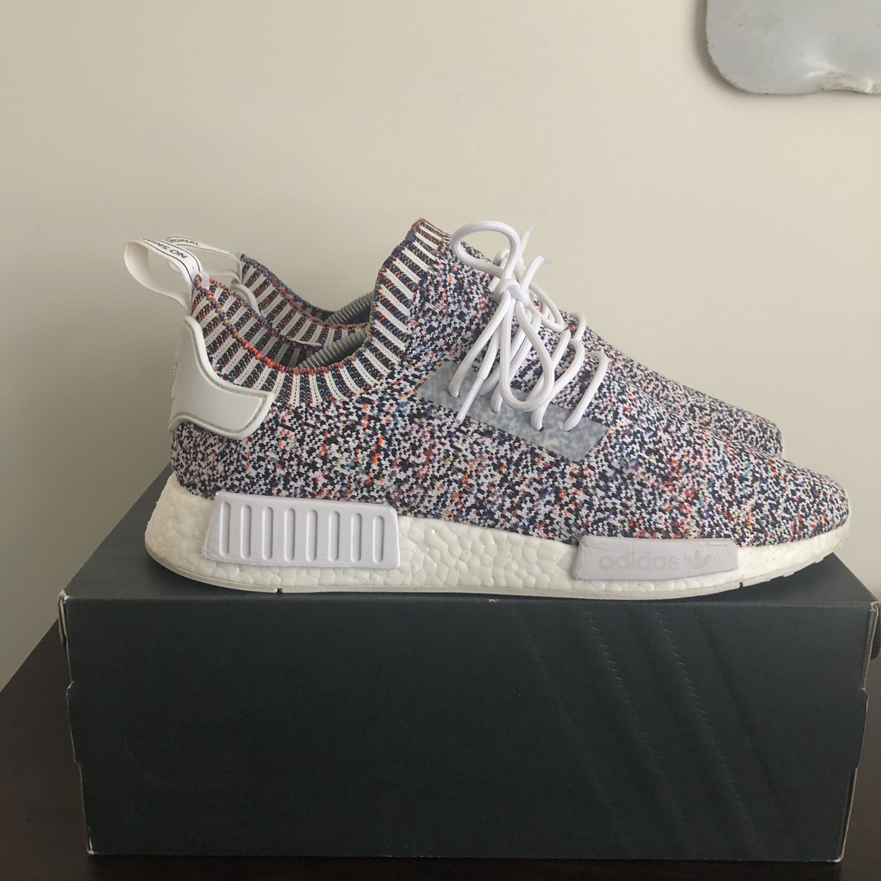 best website 669ed 8ef02 Adidas NMD R1 Static Limited, Worn 10 times and kept ...
