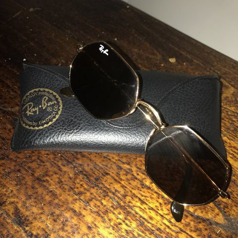 35b5bea525 These are the Ray-Ban Octagonal Flat Lenses  ) Super cute on - Depop