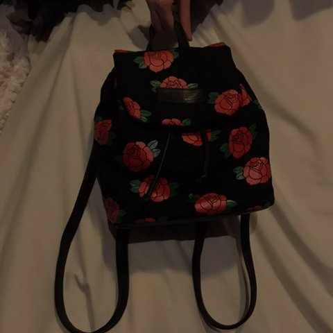 Hlzblz Zumiez Rose Mini Backpack Loved But In Good Roses Depop