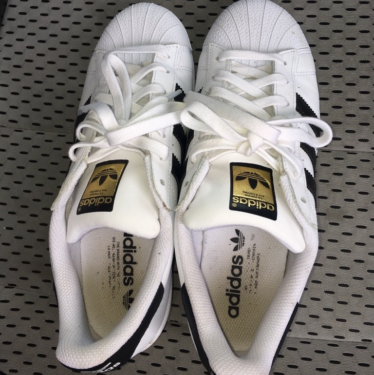 $60????50????$45 ?? ADIDAS ?? Superstar adidas, only worn