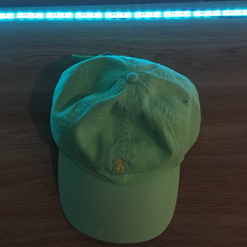 4ca6572b8b76b Lime and yellow Polo hat FAST SHIPPING 14.50  SHIPPED - Depop