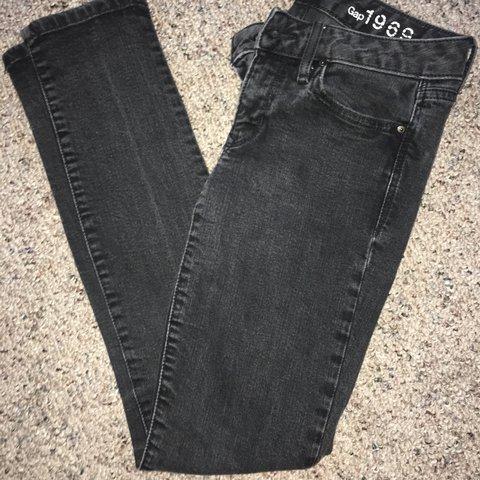 a164f319d16 Black Gap 1969 skinny jeans. Perfect condition, no rips or 4 - Depop