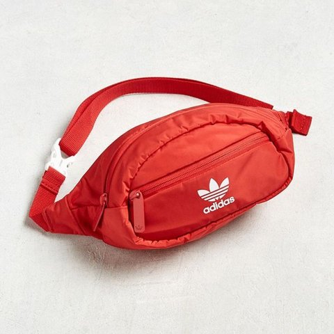 4a3081fb2b70 being sold to someone - red adidas fanny pack never worn - - Depop