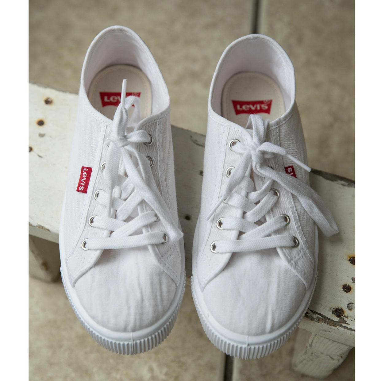 Levi's canvas sneakers shoe trainers in