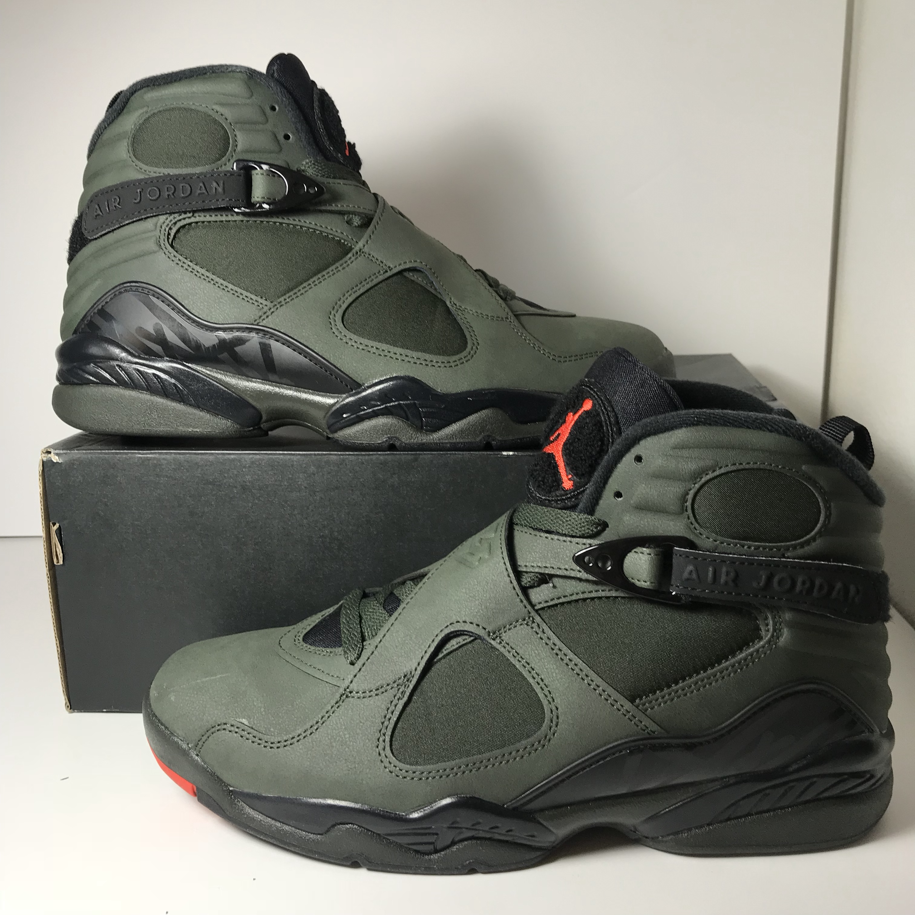 """new concept 08f59 d239b Jordan 8 """"Undefeated"""" Is this the best colorway for... - Depop"""