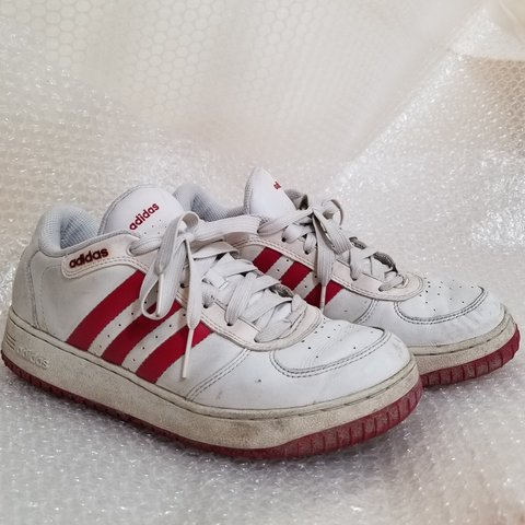 9011229ad Vintage early 2000s red adidas. These have definitely been a - Depop