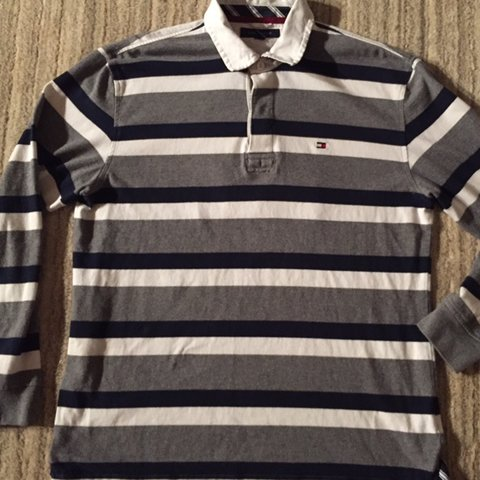 e524194f @ramirom12. 22 days ago. Palm Beach, United States. Vintage Tommy Hilfiger  long sleeve Polo