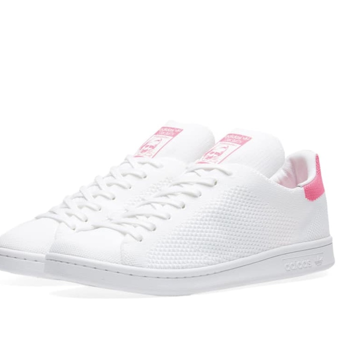 best sneakers fa173 7045b Adidas Stan Smith PK white and pink. Brand new in... - Depop