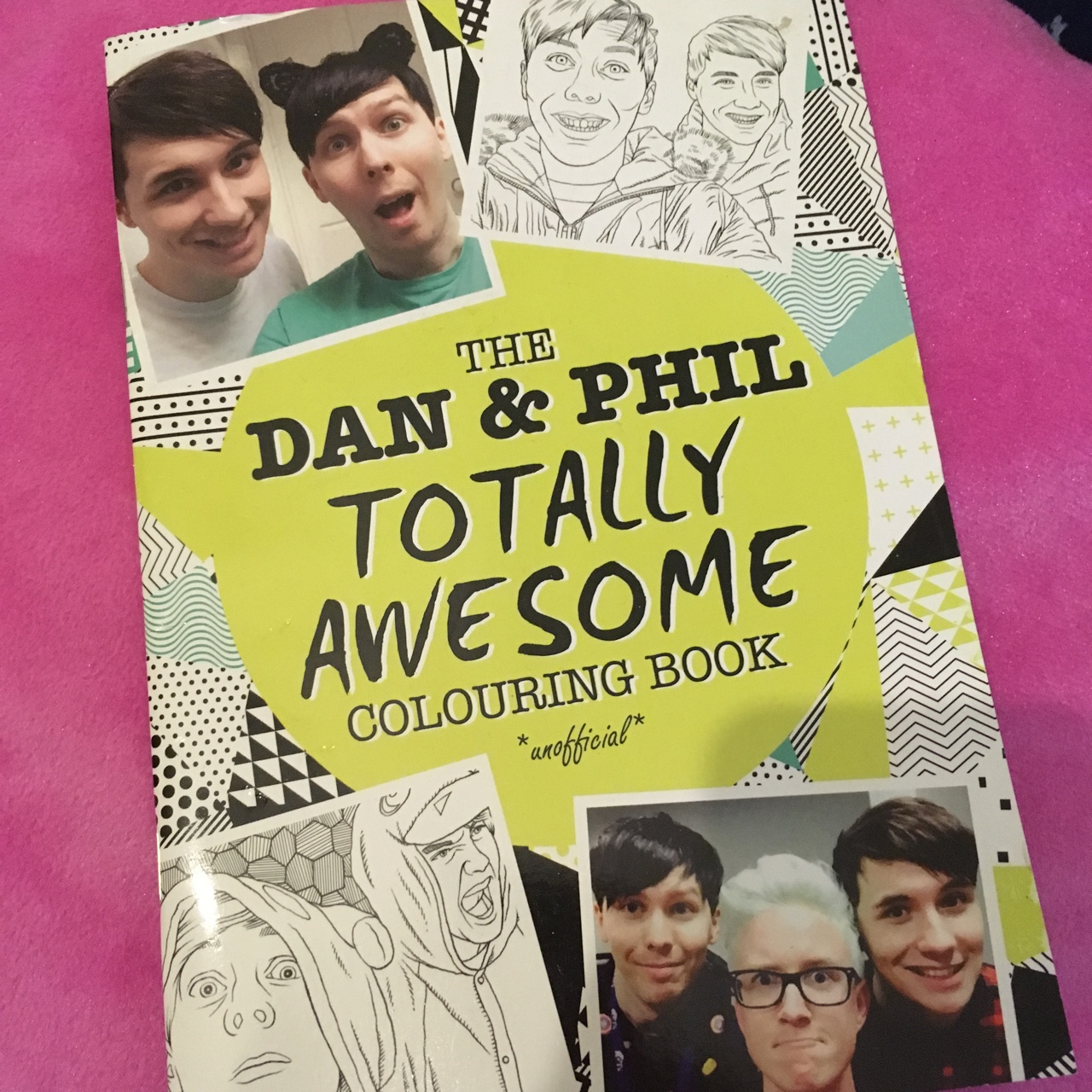 Dan and Phil colouring book £3 with any other... - Depop