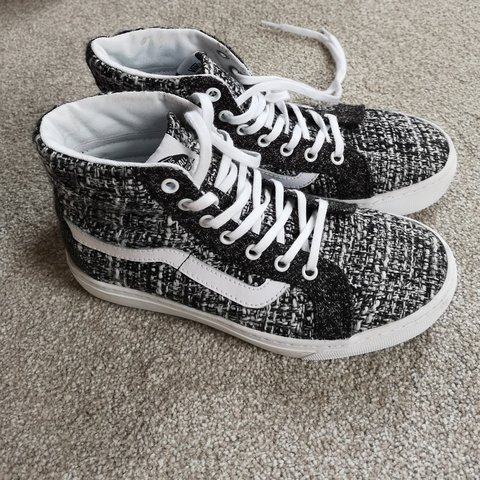 ac472f447f Brand new High top vans old skool skate - SK8-Hi Cup in Luxe - Depop