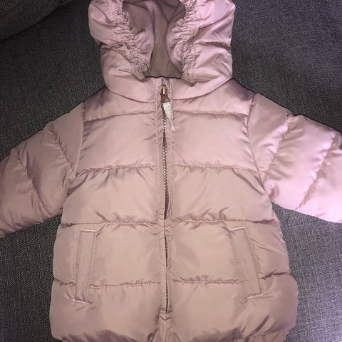 bd7b2229f Baby girl next jacket size 6-9 months. Fab condition coat - Depop
