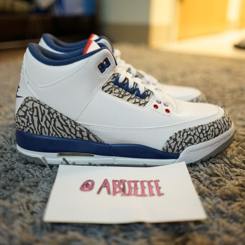 1586c444798b25 2016 GS TRUE BLUE 3 s Condition  DEADSTOCK 10 10 Size  6y OG - Depop