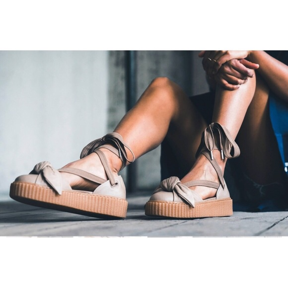 innovative design 600f1 d29ac Brand New w/o tags Puma x Fenty Bow Creeper Sandals ...