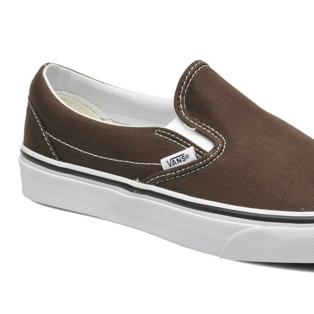 vans slip on marrone