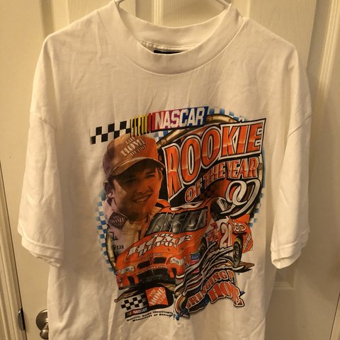 Vintage Tony Stewart 1999 Rookie Of The Year T Shirt Really